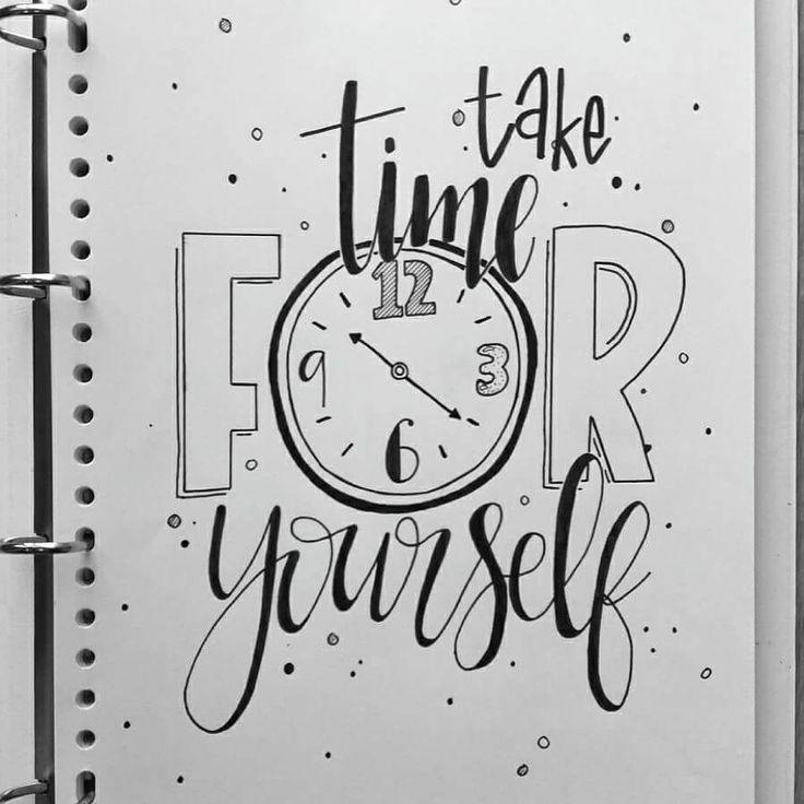 Take time f⏰r yourself