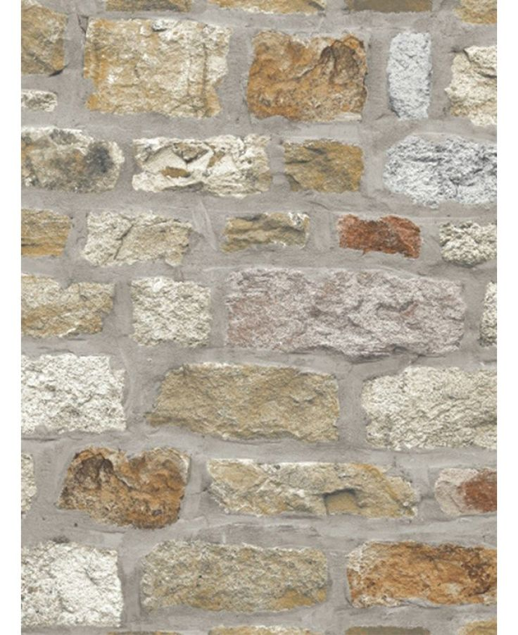 This fantastic Country Stone Wallpaper will add a stylish and contemporary finishing touch to any room. The high quality wallpaper recreates the look of a rustic stone wall in natural tones of brown and beige, with realistic detailing and shading to add to the effect.