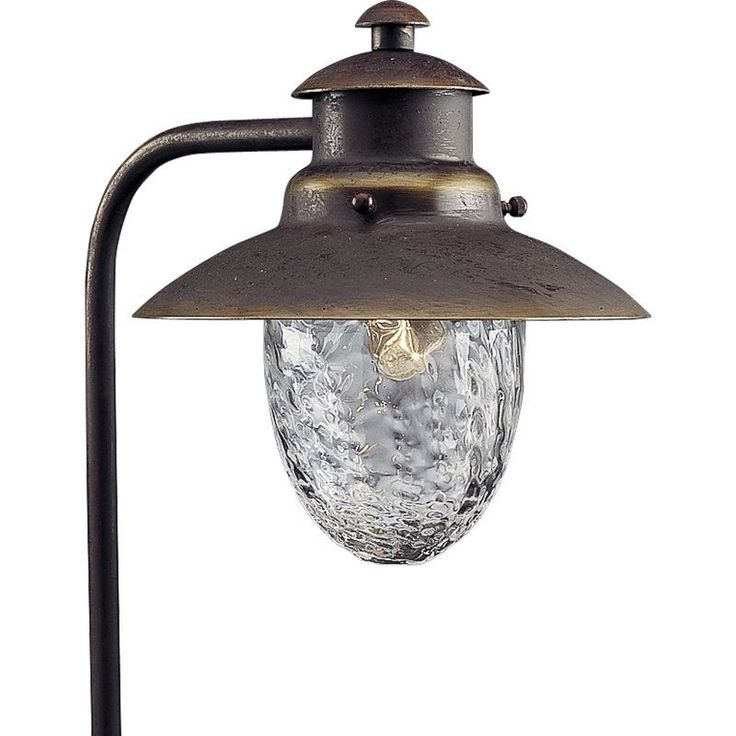 Progress Lighting P5257 Copper Series 12v Low Voltage 18W Solid Brass Path Light Antique Bronze Outdoor Lighting Landscape Lighting Path Lights