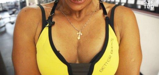 Тренировка груди и спины. Зина Руденко