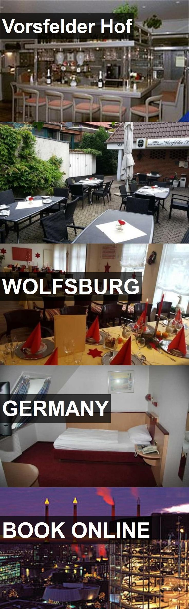 Hotel Vorsfelder Hof in Wolfsburg, Germany. For more information, photos, reviews and best prices please follow the link. #Germany #Wolfsburg #travel #vacation #hotel