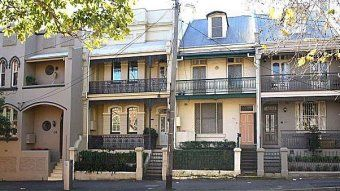 Terrace houses at Surry Hills
