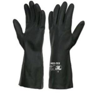Guantes Neo Tex - Gran resistencia química. Buen agarre en húmedo y seco. Flocado para mayor confort.  Neopreno 100%.    http://www.janfer.com/es/riesgos-quimicos/971-guantes-neo-tex.html