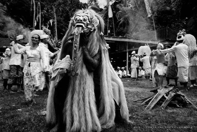 Rangda Dance, Selumbung - Karangasem