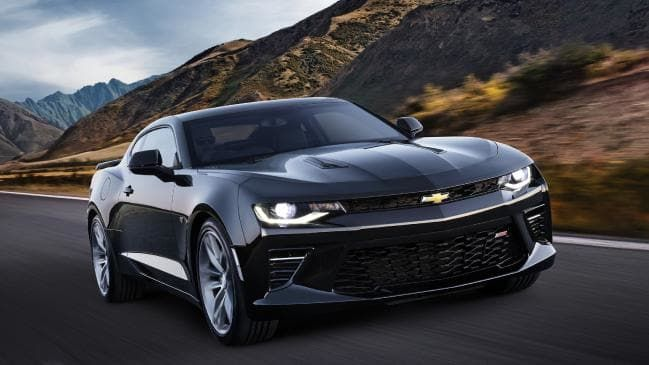 2018 Chevy Camaro Black With Special Offer Price Deal At Westside