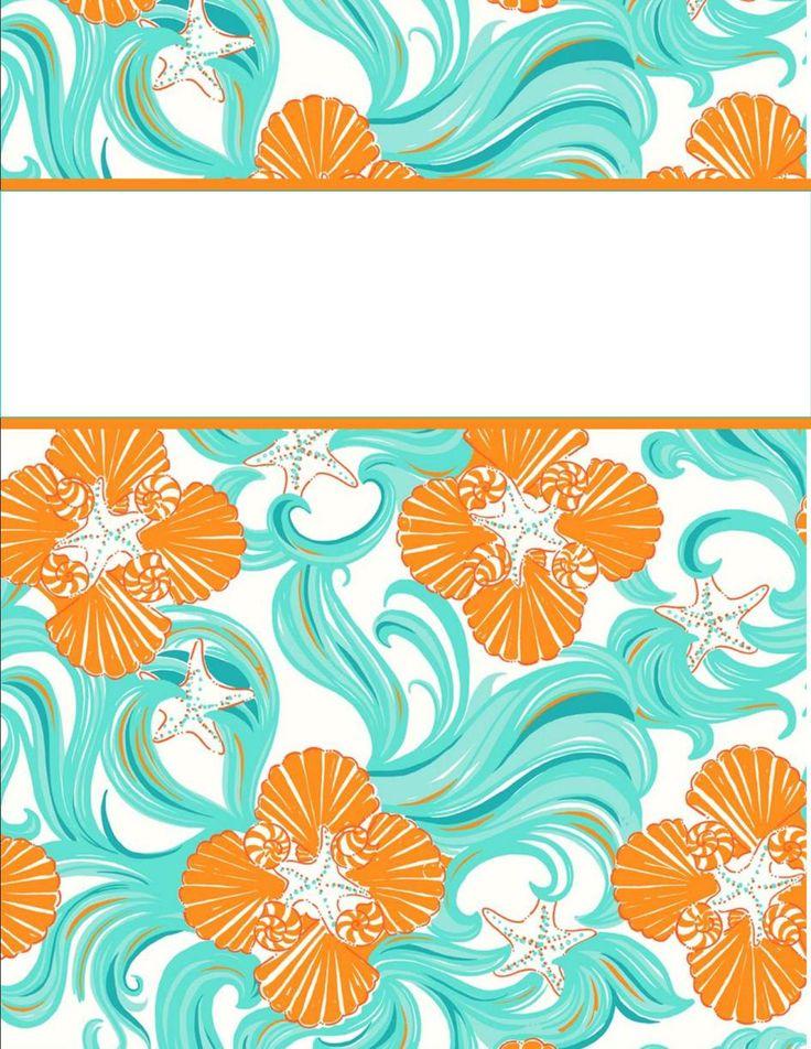 Super cute binder covers