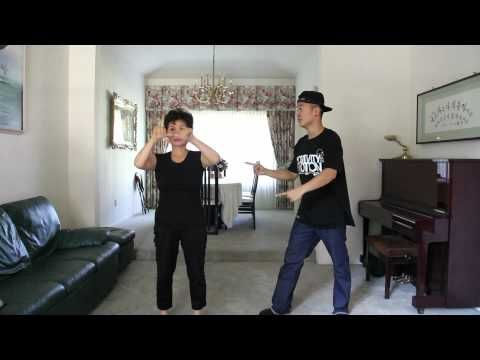 """Gangnam Style' Mom and Son"