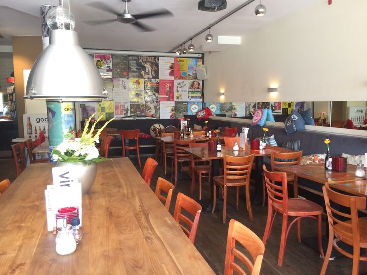 * #CAFE GOOS The variety of the menu is great. Not only are there several vegetarian options, there's a choice of gluten free breads for your sandwiches and even gluten free beers. It is a very comfortable place for a coffee or a lunch. It is located in #Amsterdam South on Maasstraat 74. http://www.cafegoos.nl