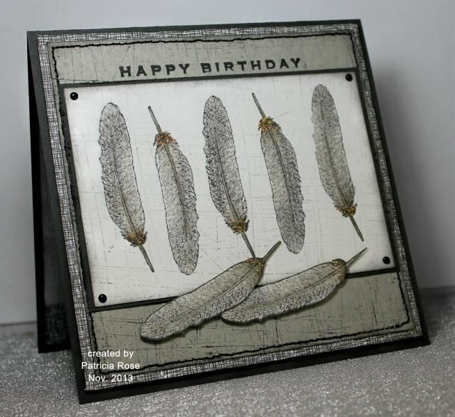 Fine Feathered birthday greetings