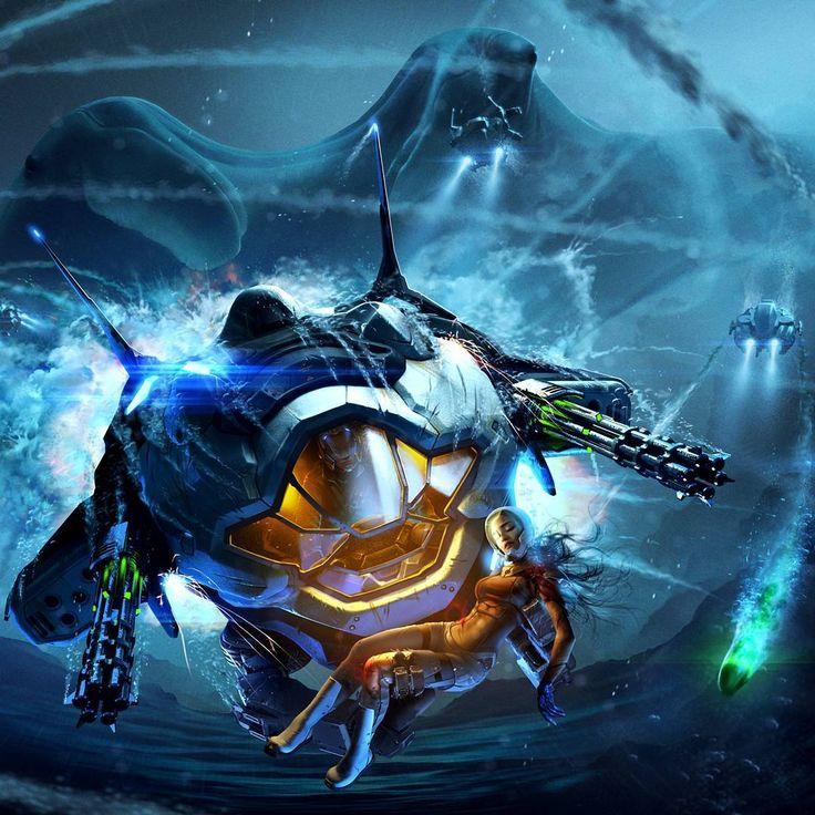 #Aquanox Deep Descent #game #nordicgames #digitalarrow #deepsea #dystopia #firstperson #shooter www.facebook.com/aquanoxofficial