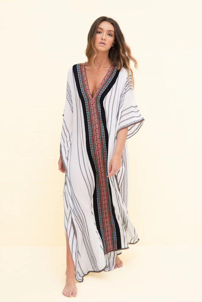 Indian Thobe | Pitusa, Print clothes, Beachwear long dress