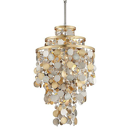 Ambrosia pendant corbett lightingliving room lightingcrystal
