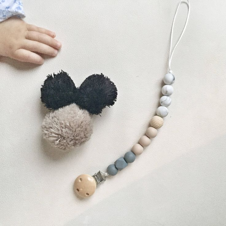 A personal favourite from my Etsy shop https://www.etsy.com/ie/listing/556004949/pacifier-clipsilicone-beads-nursing-clip