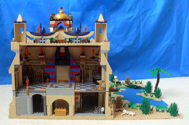 Pin by Sarah Peverley on Lego | Temple of anubis, Anubis, Lego 4