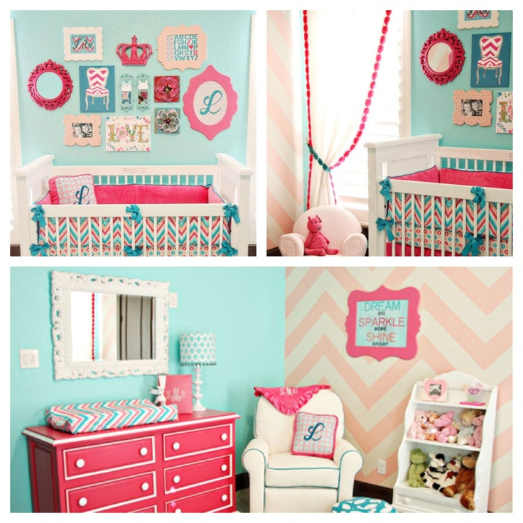 Cuarto ni a decoraci n de cuarto pinterest girls - Cuartos de bebes decorados ...