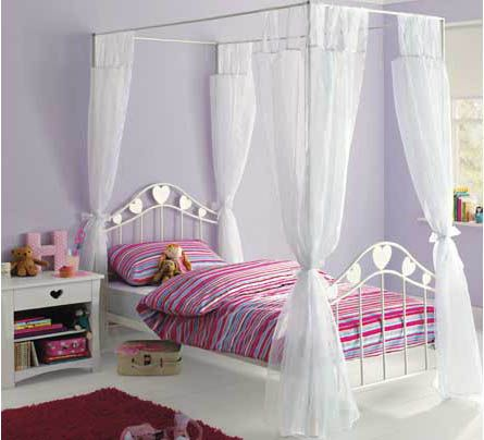 4 Post Bed Curtains 11 best girls beds images on pinterest | four poster beds, 3/4