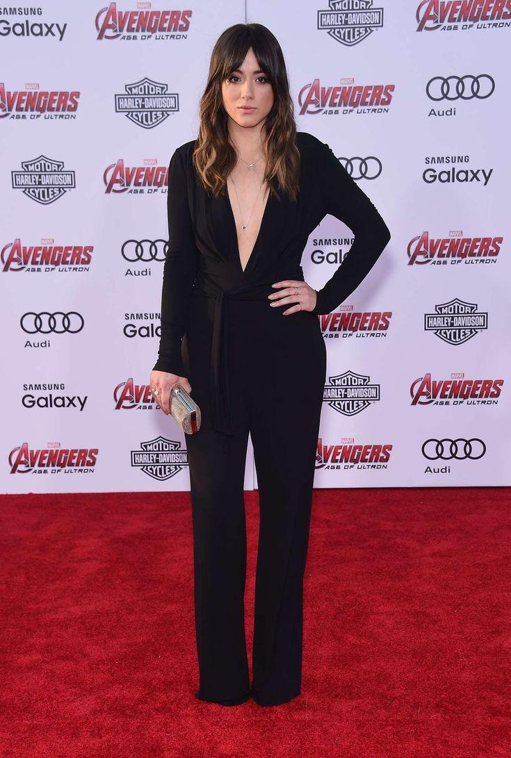 Chloe Bennet: Avengers Age Of Ultron Premiere -10