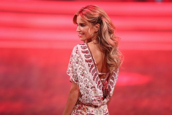 Sylvie Meis Photos - Sylvie Meis is seen onstage at the 8th show of the television competition 'Let's Dance' on May 6, 2016 in Cologne, Germany. - Let's Dance' 8th Show