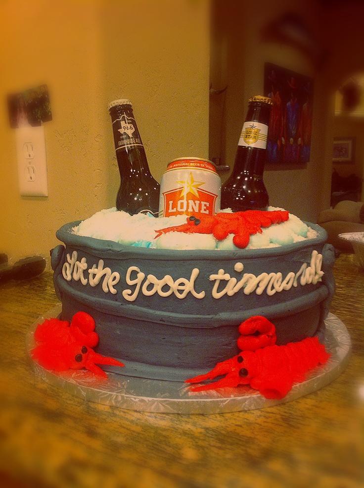 Beer Pong Cake Topper