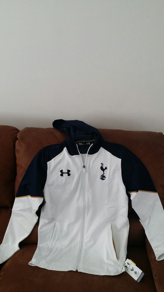 tottenham hotspur under armour hoodie storm 1 soccer jacket NWT size M mens | Sports Mem, Cards & Fan Shop, Fan Apparel & Souvenirs, Soccer-International Clubs | eBay!