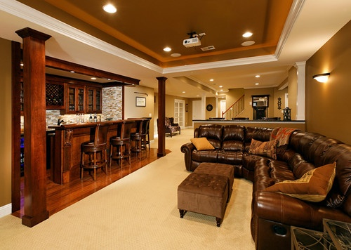 Basement Decor Ideas Enchanting Decorating Design