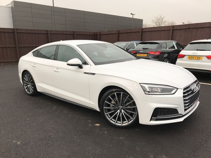 My brand new 2017 Audi A5 Sportback in Glacier white just arrived at the dealership! #Audi #cars #car #quattro