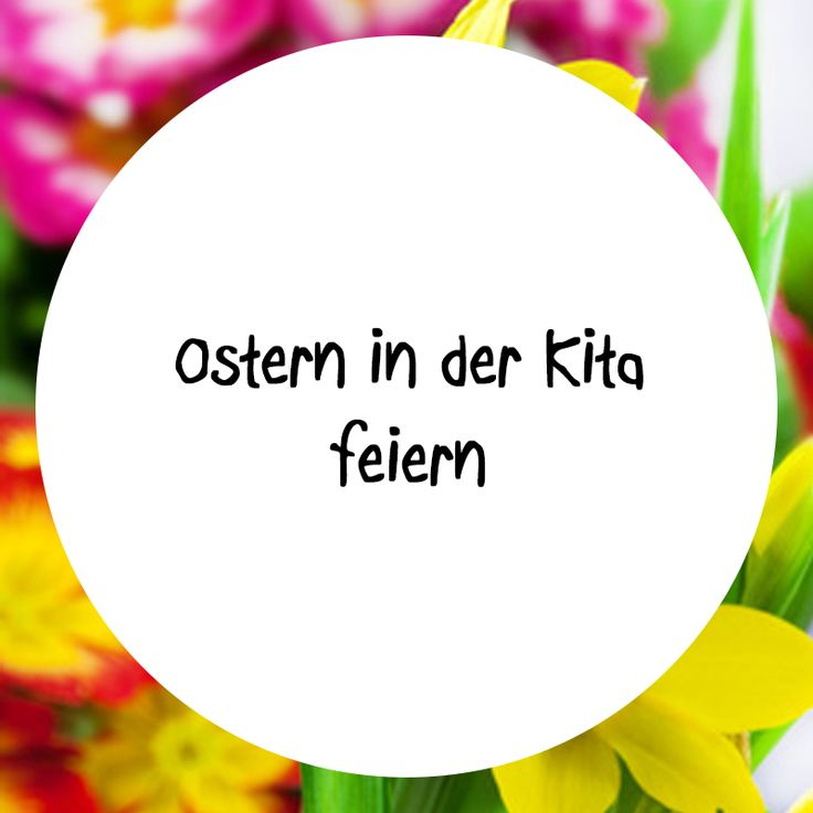 Alles rund um das Osterfest in Ihrer Kita finden Sie in unserer Pinnwand. Lassen Sie sich inspirieren!