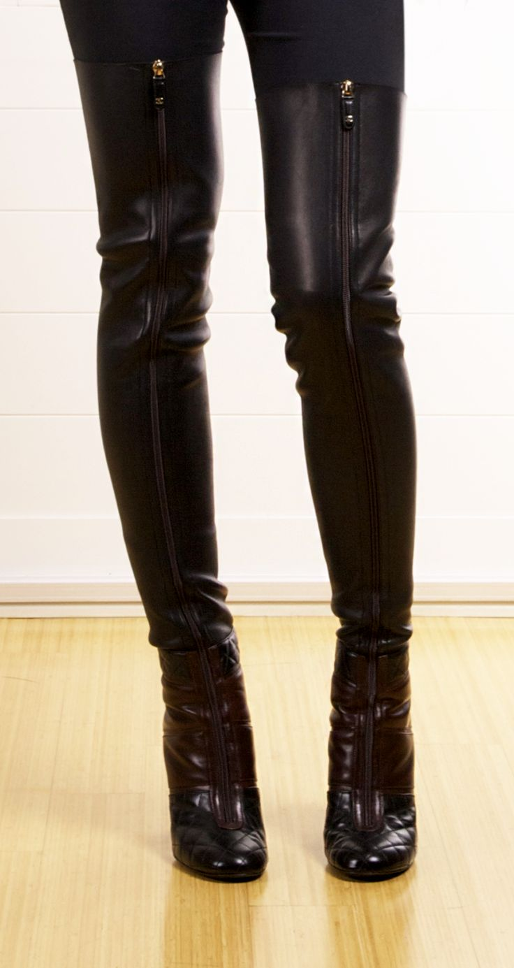 CHANEL BOOTS @SHOP-HERS...gorgeous and sexy. Need I say more?
