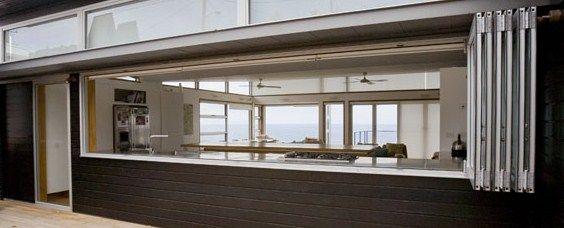 Aluminum Windows And Doors Sydney : Bi fold kitchen window pinterest windows