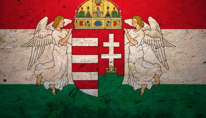 My favorite Hungarian flag with crest