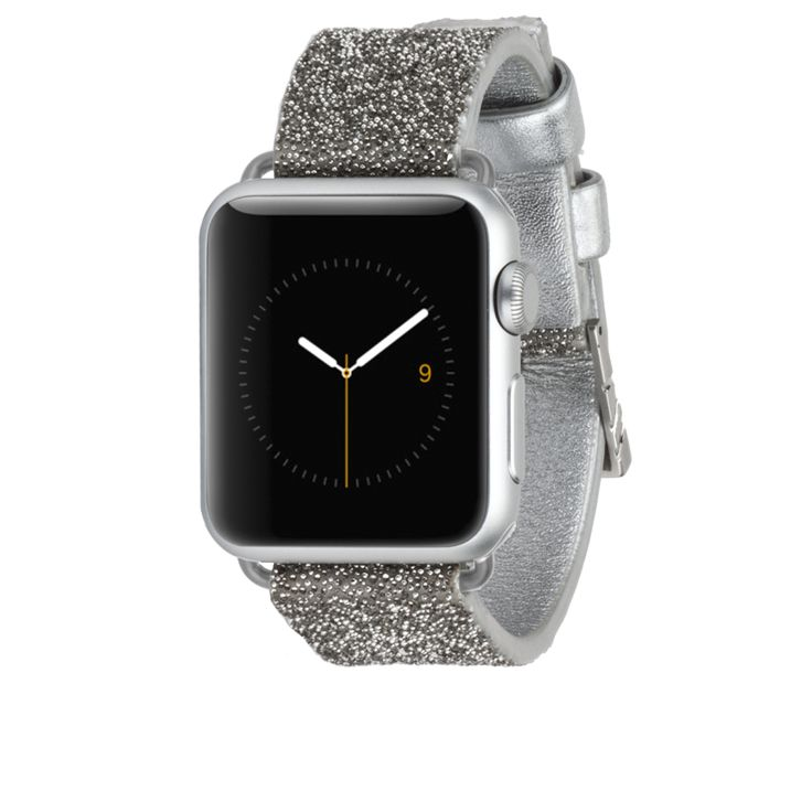 Apple Watch 38mm Silver Brilliance crystal  Apple Watch Band l case-mate  #casemate #applewatch fashion accessory