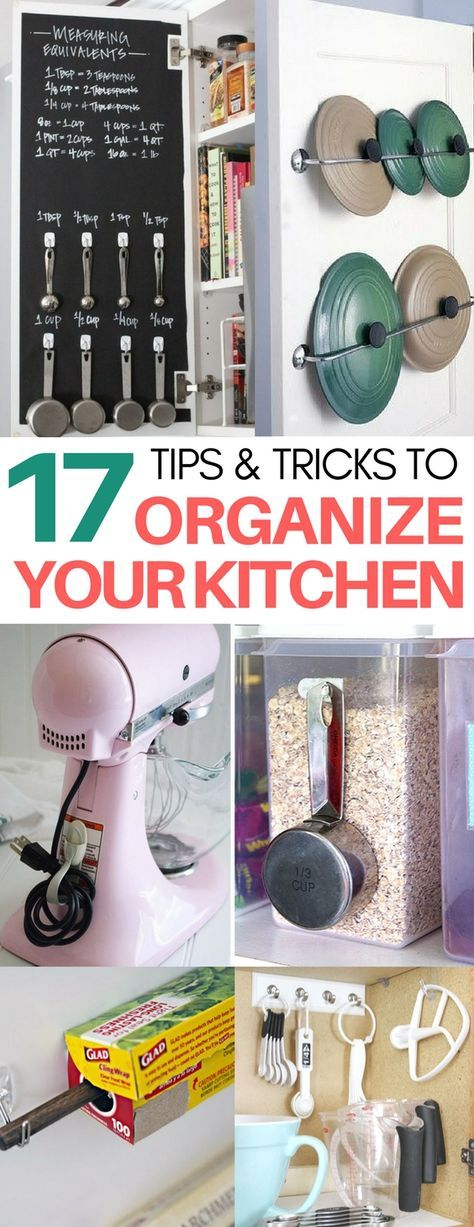 I am AMAZED at how incredibly clever these kitchen organization hacks are and easy to recreate!! organization ideas, life hacks, organizing under the kitchen sink, decluttering tips
