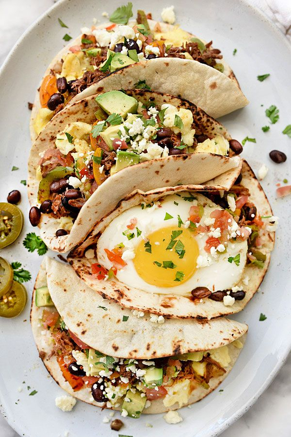 Breakfast Tacos Recipe   - 18 Delicious Taco Recipes You Have to Try