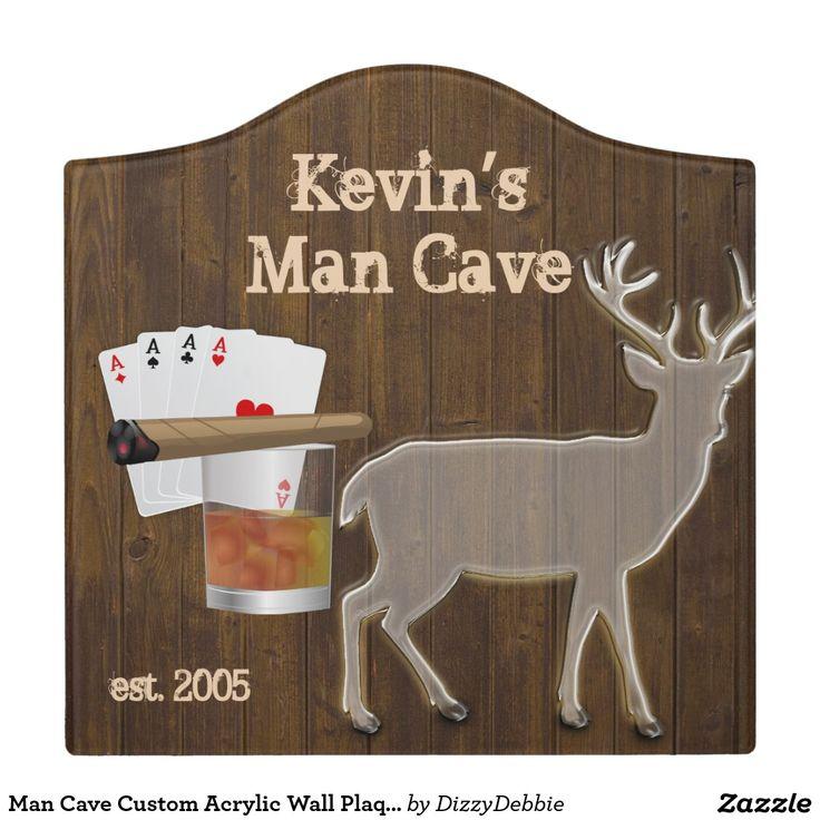 Man Cave Door Signs : Acrylic idea factory door signs wall plaques and man cave