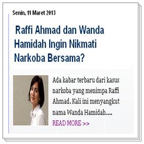 Berita Terkini Raffi Ahmad