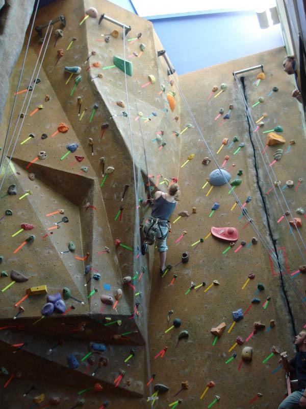 Ever wanted to go rock climbing Now