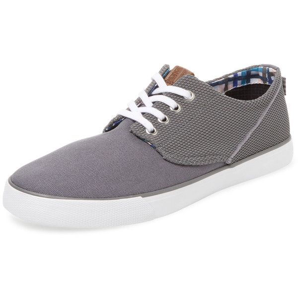 Ben Sherman Men's Ron Update Derby Shoe - Grey, Size 10 (2.790 RUB) ❤ liked on Polyvore featuring men's fashion, men's shoes, grey, mens derby shoes, mens lace up shoes, mens grey shoes, ben sherman mens shoes and mens shoes