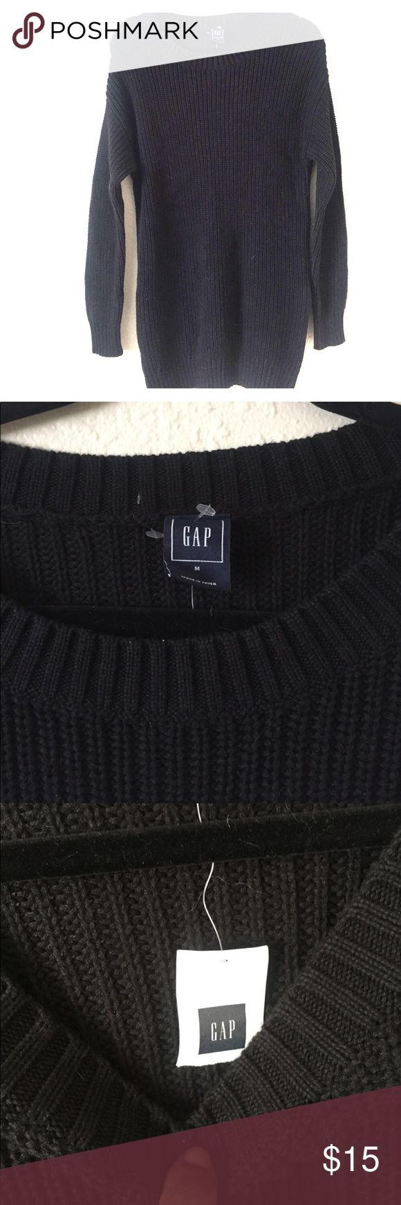 BNWT GAP Sweater Dress Oversized Zipper Sz M Brand new, fits true to size. Zippers down the side.  ***Pets reside in this home so a few hairs may travel with the garment. 🏡 🐶 🐱 GAP Sweaters