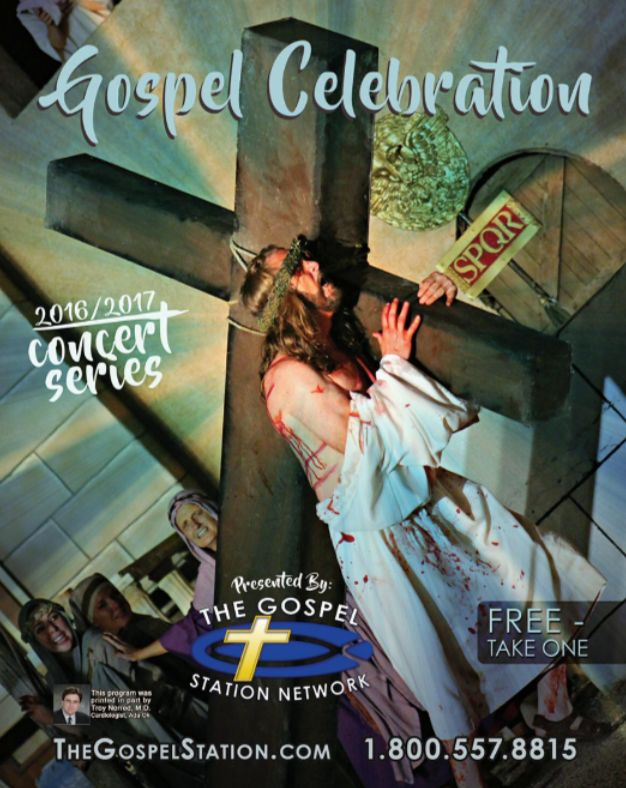 Our Gospel Celebration Magazine!! Call today to Order one!!