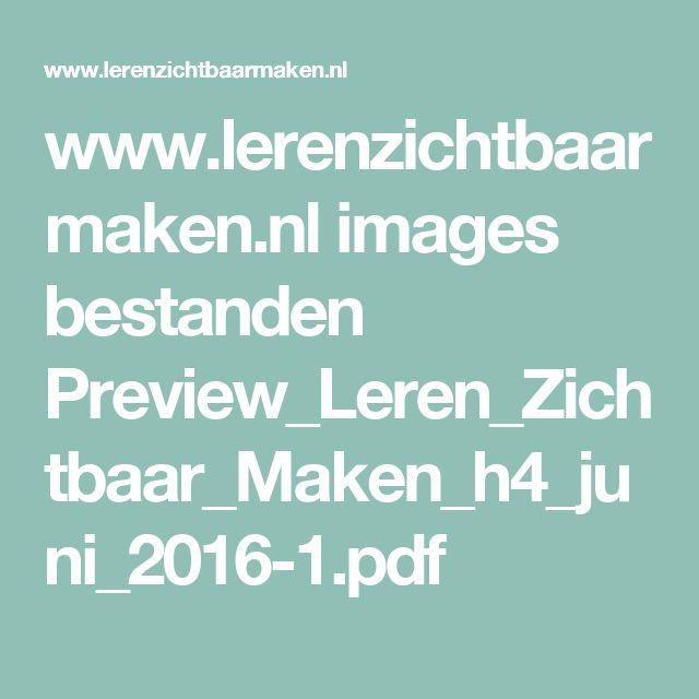 www.lerenzichtbaarmaken.nl images bestanden Preview_Leren_Zichtbaar_Maken_h4_juni_2016-1.pdf