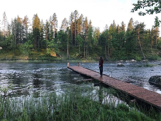 Live outdoors  5 a.m.#pasvik#vaggatem#scandinavia#north#nature#lake#night#nightfishing#nordnorge#norway#visitnorway#naturewalk#naturelovers#fishing#forest#summer#northernnorway#liveoutdoors