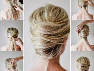 22 Idée Updos rapide et facile pour cheveux longs - #cheveux #facile #longs #rapide #updos -