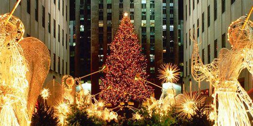 New York City Christmas Tree | ... New York, NY: Twitter Headers, Covers - Christmas, New York City, NY