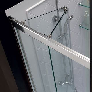 DreamLine Butterfly 34-35.5x72-inch Frameless Bi-Fold Shower Door | Overstock.com Shopping - The Best Deals on Shower Doors