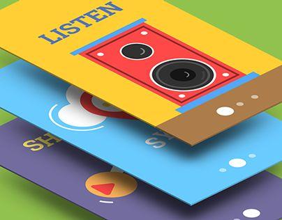 MUSIC App Animation