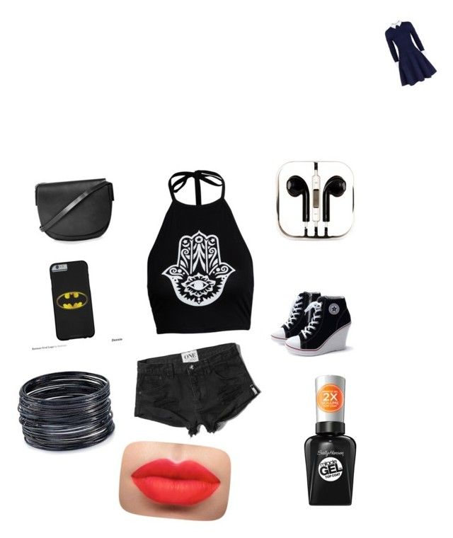 """Untitled #37"" by jennnifermurarikova ❤ liked on Polyvore featuring moda, Alice + Olivia, Boohoo, Abercrombie & Fitch, Topshop, PhunkeeTree, ABS by Allen Schwartz e Sally Hansen"