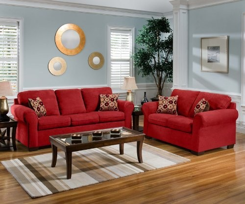 13 best COLOR COMBO Red Couch images on Pinterest Living spaces