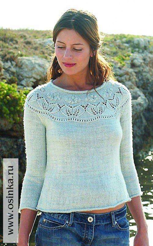 Вязаный свитер, джемпер, пуловер