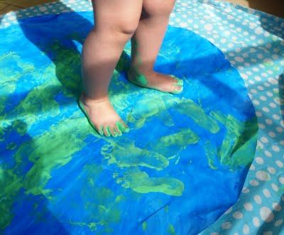 footprint earth - Re-pinned by @PediaStaff – Please Visit http://ht.ly/63sNt for all our pediatric therapy pins