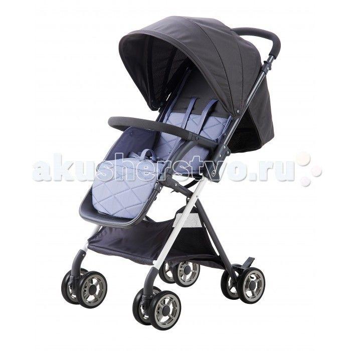 Прогулочная коляска Happy Baby Mia  Прогулочная коляска Happy Baby Mia покорит вас своим стильным видом и отличными ходовыми данными.  Плавный ход коляски обеспечивают двойные колёса, при этом передние поворачиваются на 360° и имеют возможность фиксации. В конструкцию встроена специальная сетка, которая обеспечивает циркуляцию воздуха и предотвращает выпадение ребенка в лежачем положении. Коляска имеет съемный бампер, регулируемую с помощью ремня спинку, а также вместительную корзину…